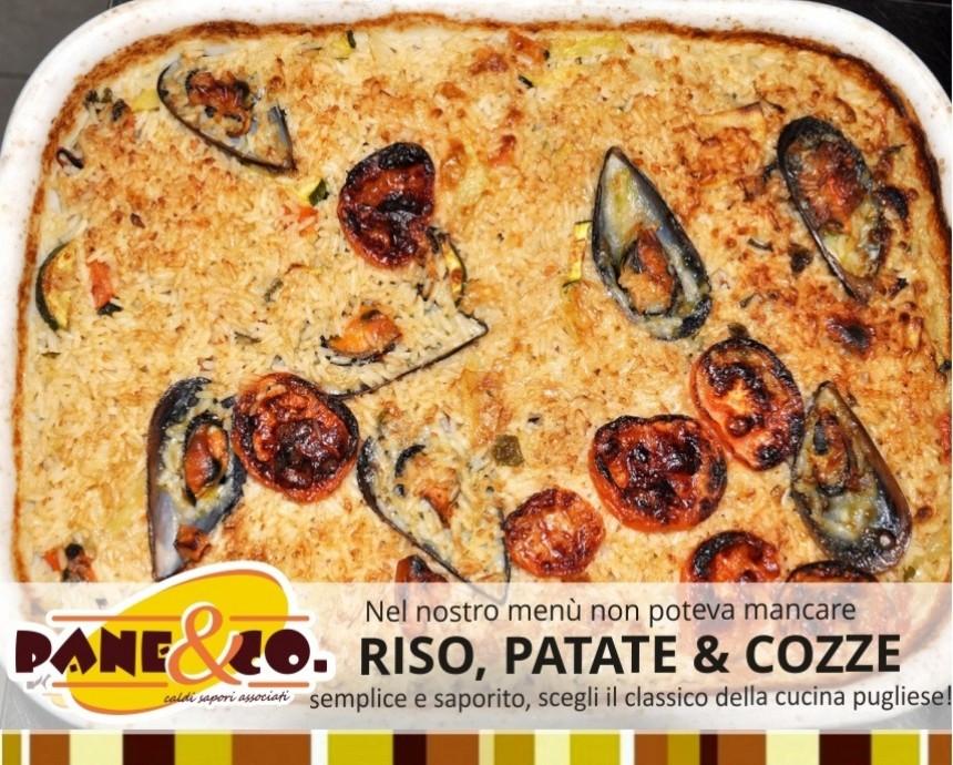 Pane&Co presenta… Riso Patate e Cozze, la Puglia in un piatto